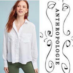 Cloth & Stone white shirt M